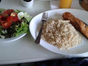 Exemplo de almoço.